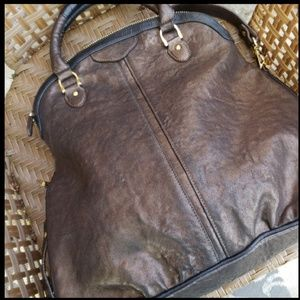 BE & D ■ Wasson Chocolate Convertible Bag